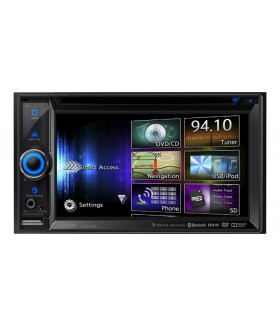 Clarion NX503E DVD Navigasyon Bluetooth USB AUX Android I Phone I Pod Double DIN